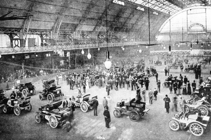 Motor Museum Montagu, salle d'exposition Octane-magazine.com