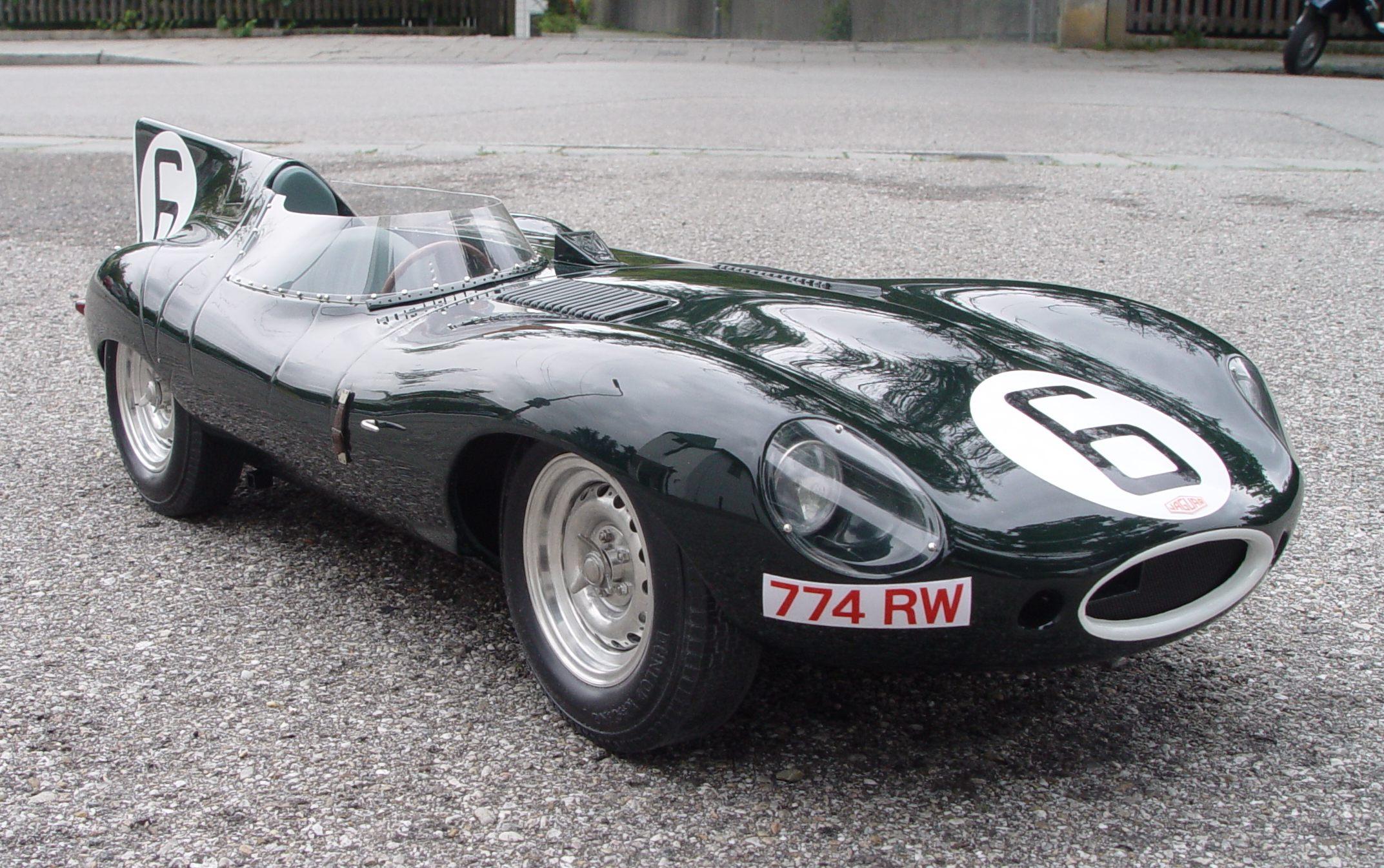 Jaguar type D Long Nose n°6 de Hawthorn-Bueb Source : diamondcar.de