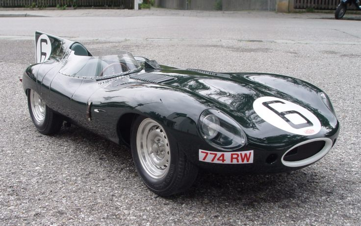 Jaguar type D Long Nose n°6 de Hawthorn-Bueb Source : diamondcar.de