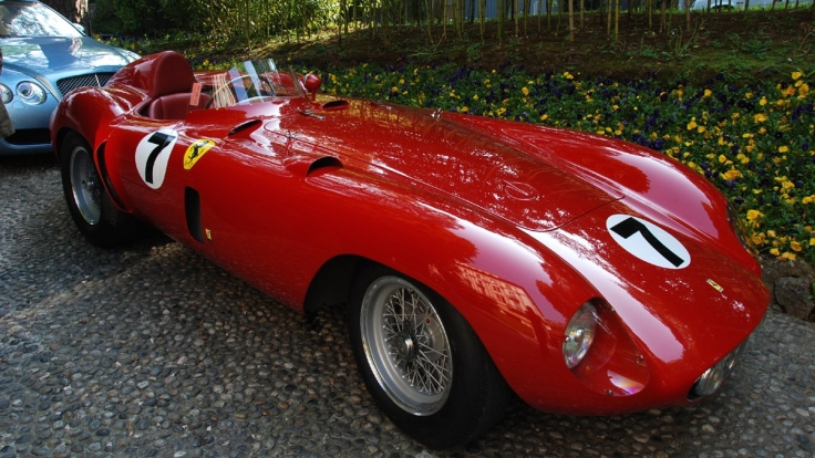 Ferrari 121LM identique à celle de Castellotti en 1955 Source : forza-rossa.over-blog.com
