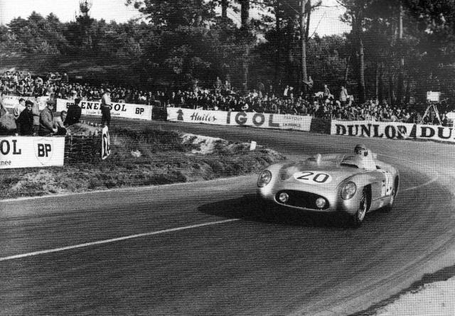 Mercedes n°20 de Pierre Levegh