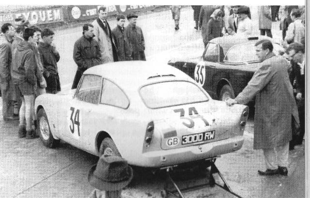 3000RW au 24 Heures du Mans 1961 stevemckelvie.wordpress.com