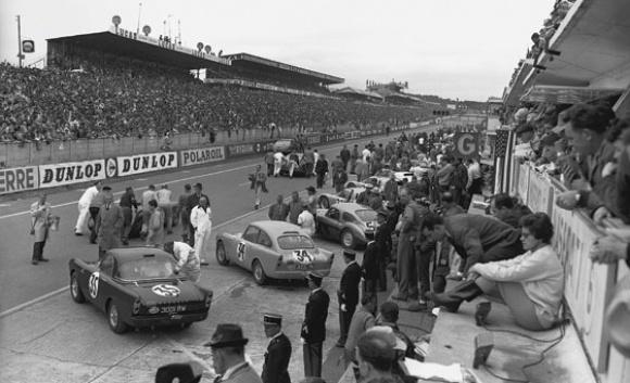 3000RW au 24 Heures du Mans 1961 forum Sunbeamania