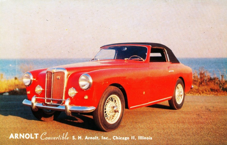 Cabriolet Arnolt MG Source : coachbuild.com