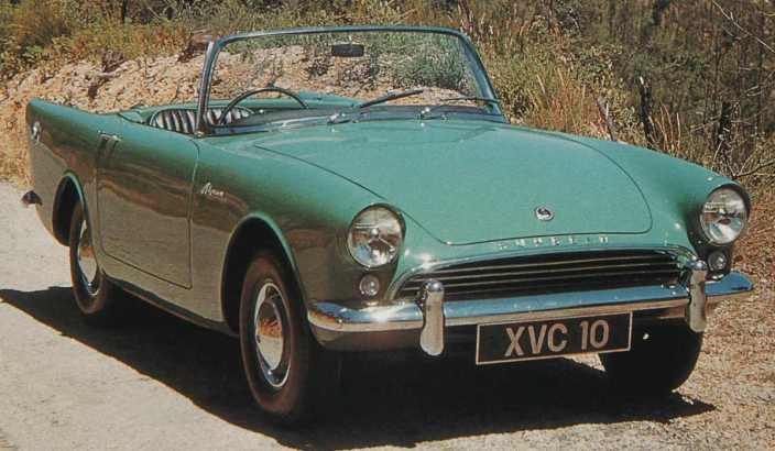 Sunbeam Alpine 1959 autocognito.com