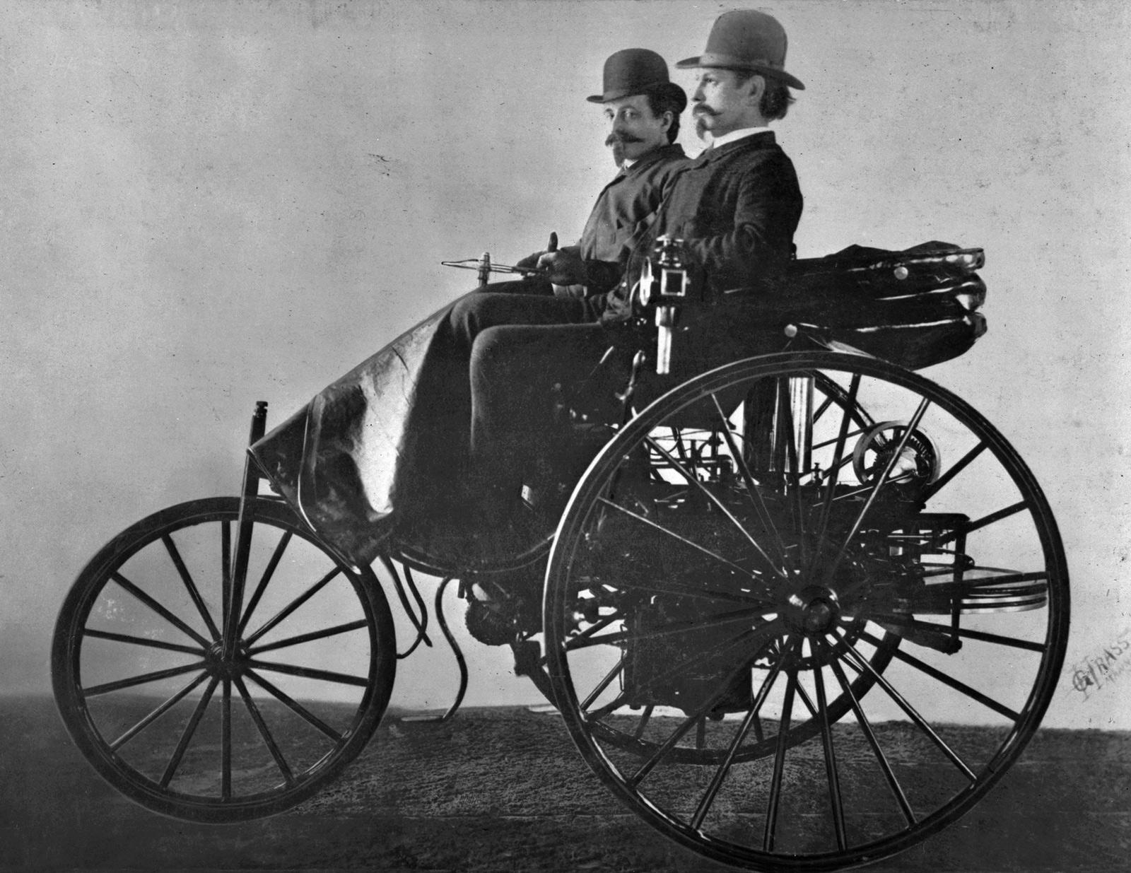 prototype n°1 de la Benz Patent Motorwagen Source : onlytruecars.com