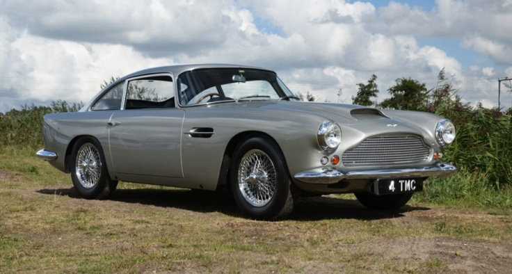 Aston Martin DB4 Source : classicdriver.com