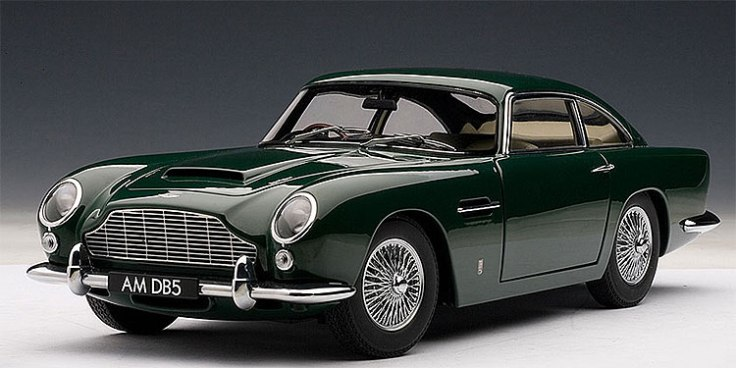 Aston Martin DB5 Source : w12.fr