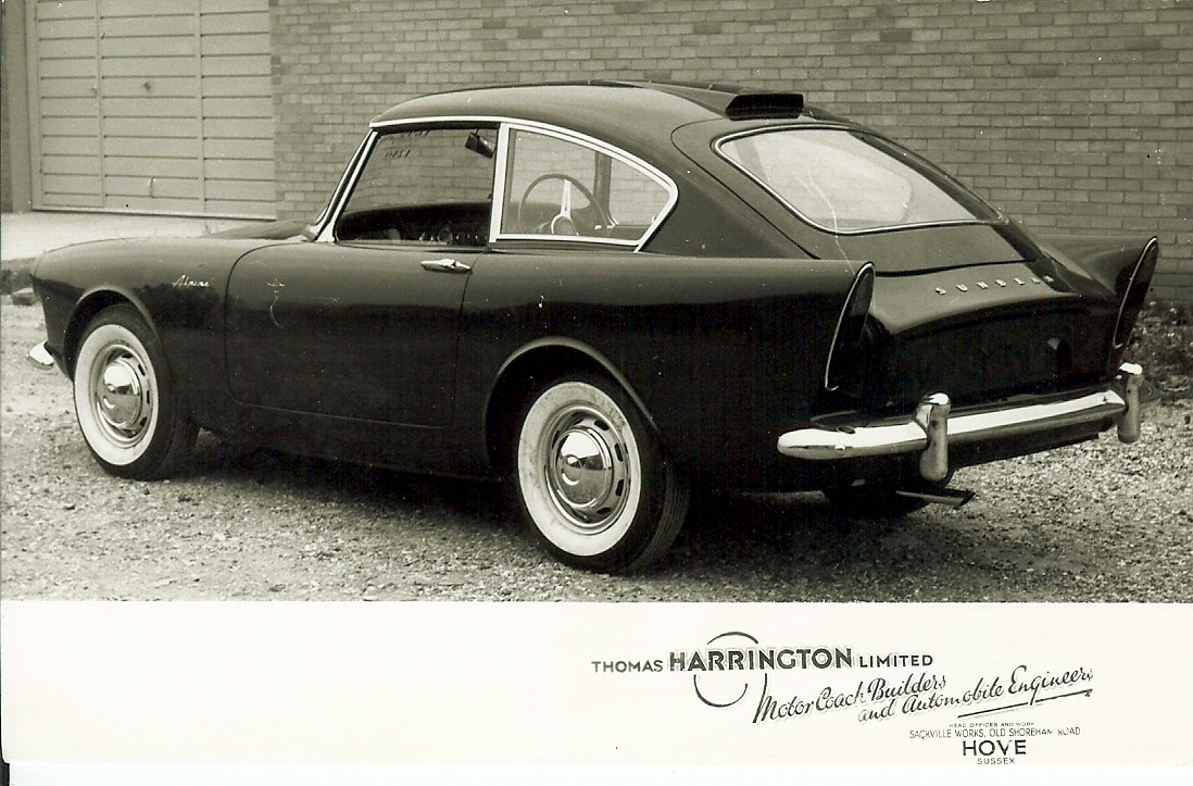 Harrington Coupé série C harringtonalpine.org