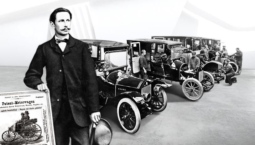 La Benz Patent Motorwagen… - RETROMOTIV