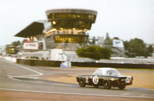 9201RW lors des 24 Heures du Mans 1962 carandclassic.co.uk