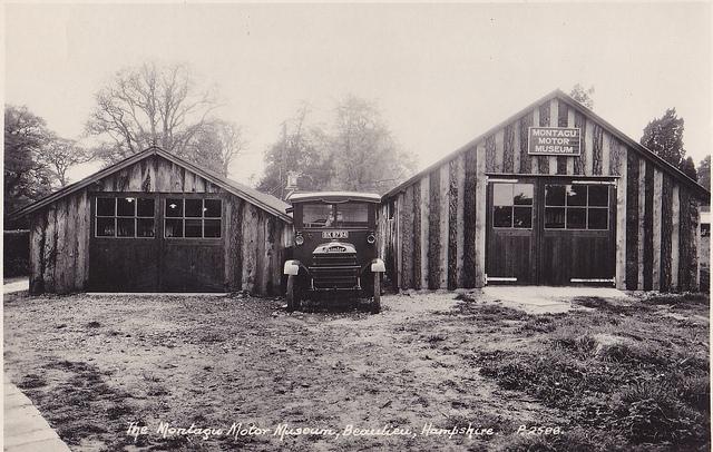 Motor Museum Montagu à ses débuts flickr.com