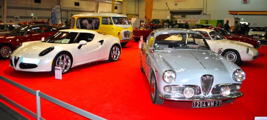Alfa Romeo 4C et Giulietta