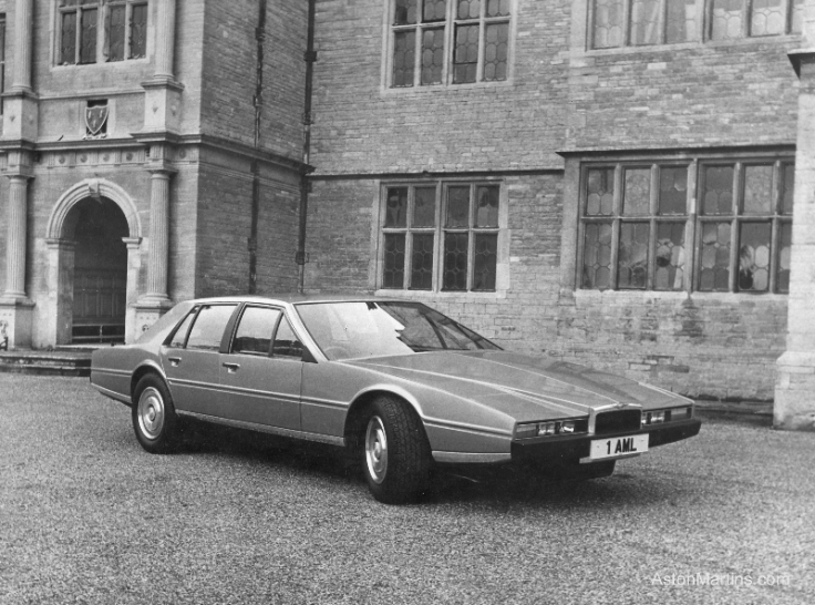 Prototype Aston Martin Lagonda 1976 Source : astonmartins.com
