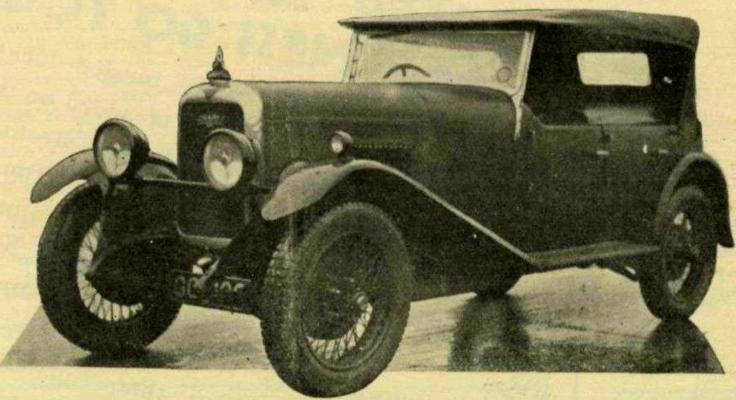 Alvis Silver Eagle Source : motorsportmagazine.com