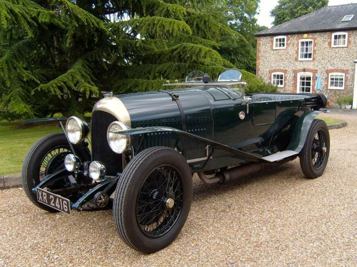 Bentley 3 litres – Source : wikipedia