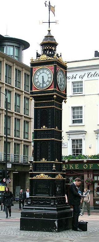 The Clock Tower, dit ''Little Ben'' à Londres près de Victoria Station Source : wikipedia