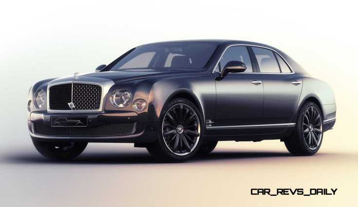 Bentley Mulsanne Speed Blue Train by Mulliner Source : car-revs-daily.com