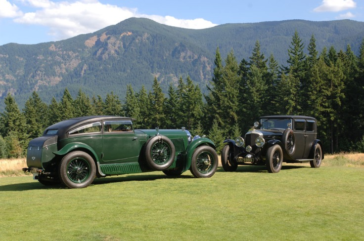Les deux Blue Train Bentley Source : rrec.de