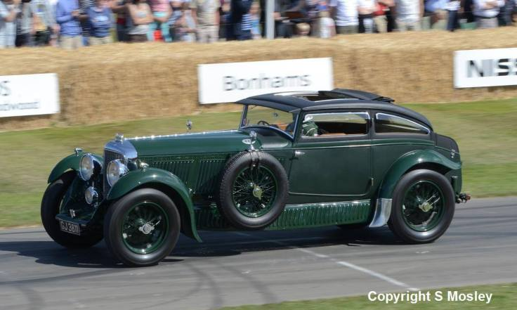 La Blue Train Special au Festival of Speed de Goodwood en 2015 Source : photo by courtesy of Stephen Mosley