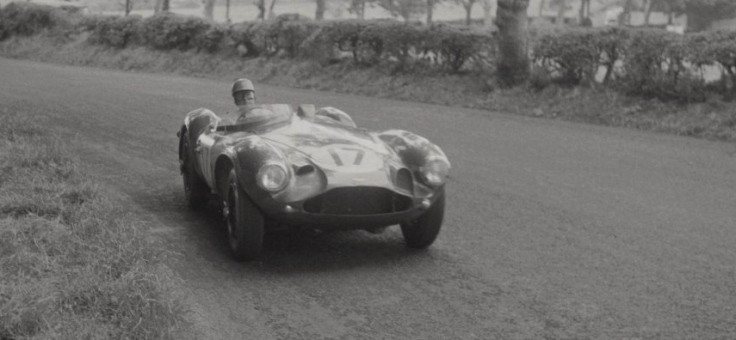L'Aston Martin DB3S n°17 de Reg Pagnell et Roy Salvadori Source : Collection George Phillips