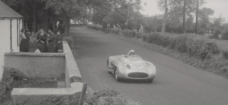 Mercedes 300SLR n°11 de Wolfgang von Trips et André Simon Source : Collection George Phillips