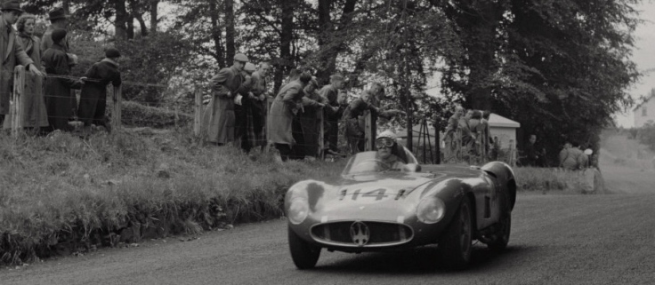 La Maserati 300S n°14 de Jean Behra Source : Collection George Phillips