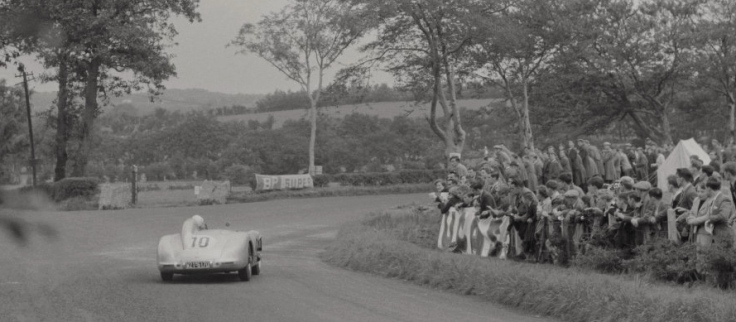 Mercedes 300SLR n°10 de Stirling Moss et John Fitch Source : Collection George Phillips
