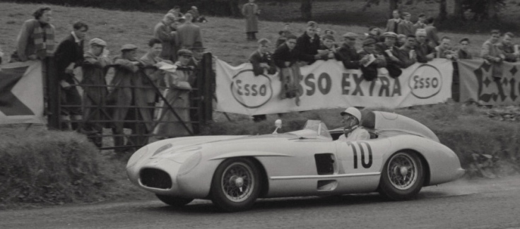La 300SLR de Moss et Fitch Source : Collection George Phillips