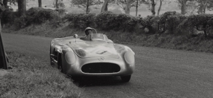Toujours la Mercedes n°10 Source : Collection George Phillips