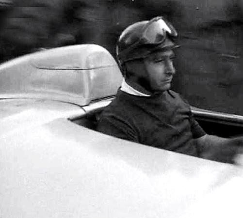 Juan Manuel Fangio, dit ''El Maestro''.