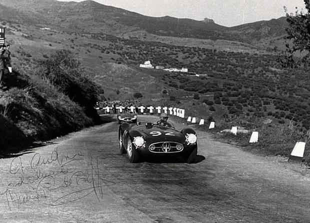 La Maserati A6GCS/53 n°92 de Maria Teresa de Filippis.