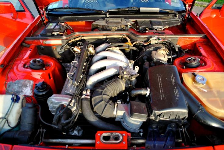 Le moteur 2,5 litres atmosphérique à culasse 8 soupapes.