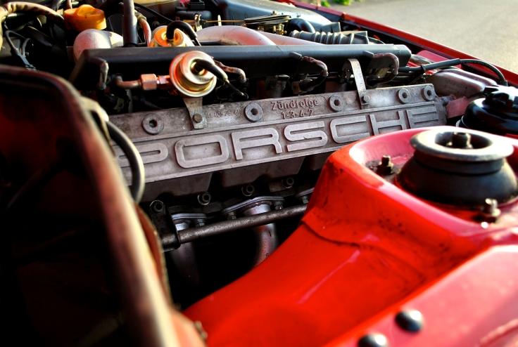 Culasse élaborée par les ingénieurs Porsche