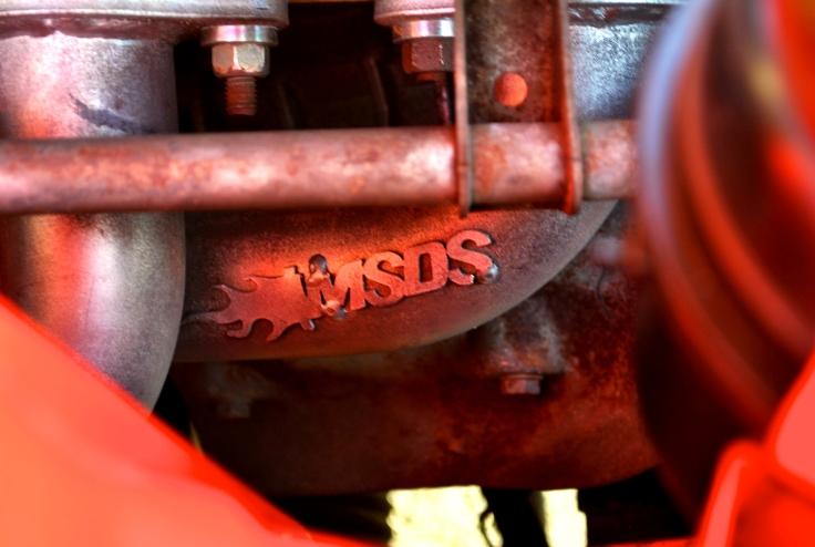 Collecteur d'échappement 4 en 1 de marque MSDS