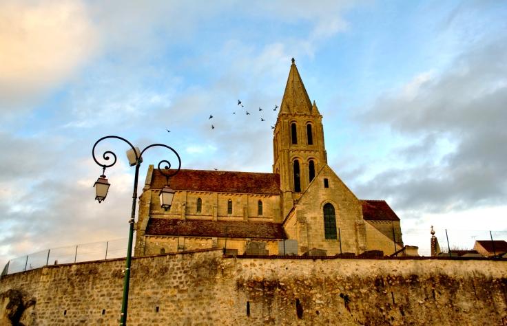 L'église de Santeuil