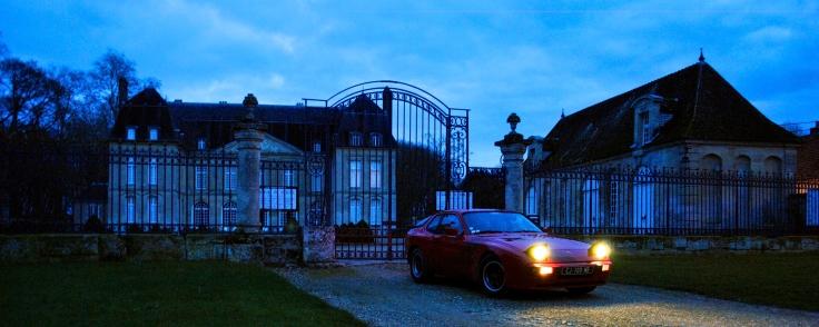 Le château de Boury-en-Vexin