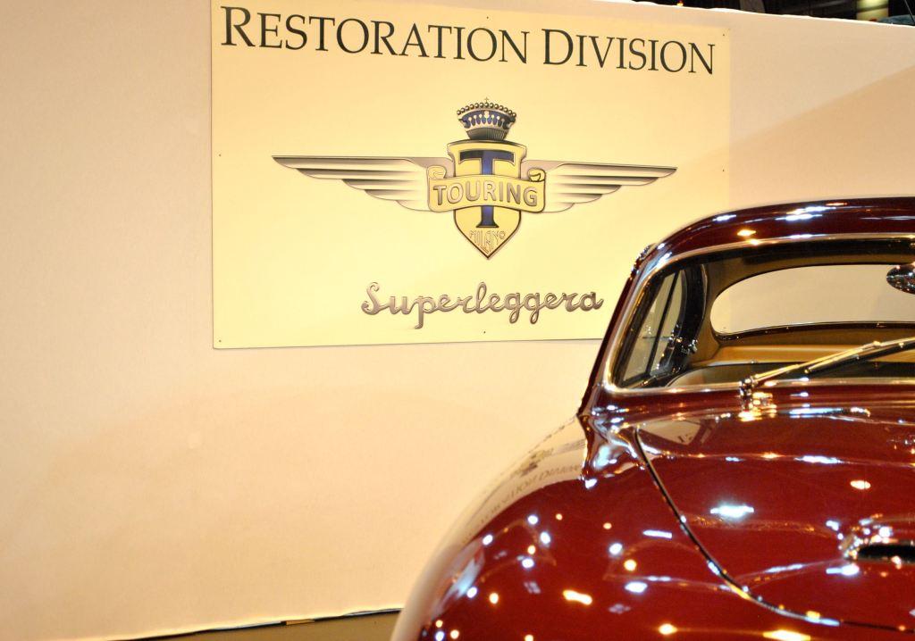 Deux créations Touring Superleggera à Retromobile
