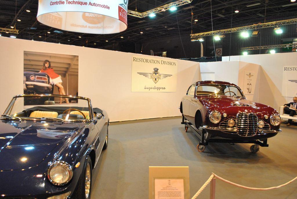 La Maserati A6G Gran Sport coupé carrossée par Frua présentée au Salon de Turin en 1952.