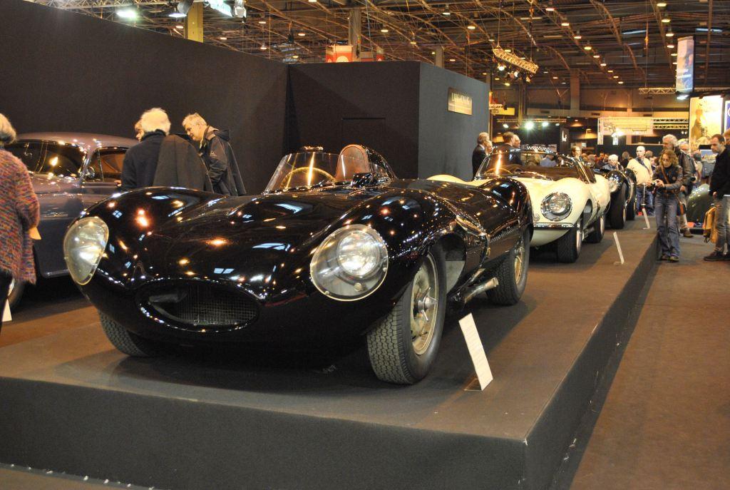 Jaguar Type D, et sa sœur : la XKSS.