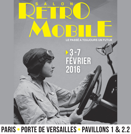 Salon Rétromobile 2016