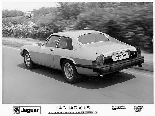 Jaguar XJ-S en 1975
