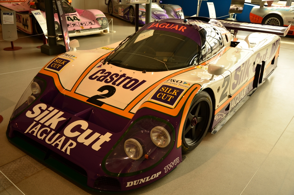 Le_Mans_1988_Silk_Cut_TWR_Jaguar_XJR-9_at_Coventry_Motor_Museum.jpg