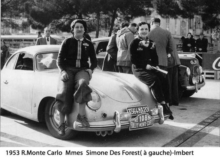 1953 MC Simone-Imbert N°108 Porsche 356 1500