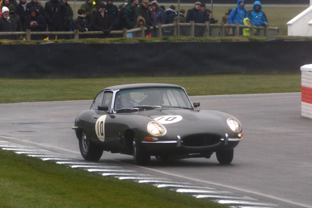 Oliver Bryant's E Type on the limit
