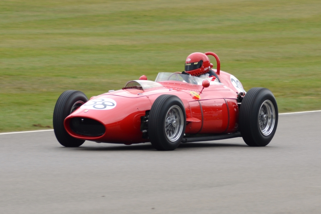 Tony Best in Ferrari Dino